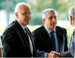 PA delegation visits the United States (Facebook page of Saeb Erekat, December 12, 2016)