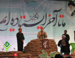 Soleimani delivers a speech in the city of Jahrom (pasinejahrom.ir, December 7, 2016).