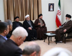Khamenei meets with a delegation headed by Ammar al-Hakim (Tasnim, December 11, 2016).