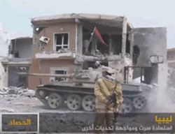Devastation in Sirte following the battles (Al-Jazeera, December 12, 2016)