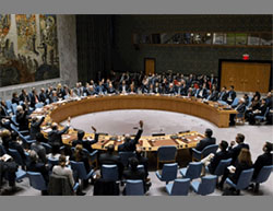 The UN Security Council votes on Resolution 2334 (UN website, December 23, 2016)