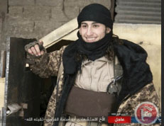Abu Osama the Gazan, an ISIS operative from the Gaza Strip who carried out a suicide attack against the Turkish Army in Al-Bab (MA'AN, December 22, 2016)