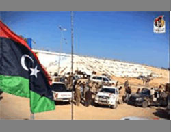 Government of National Accord forces carrying out searches south of Sirte (Facebook page of the information center of the campaign over Sirte, December 20 and 22, 2016)
