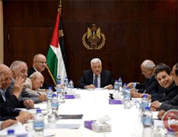 Meeting of the PLO's Executive Committee, chaired by Mahmoud Abbas (Ma'an, December 27, 2016).
