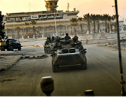 Russian troops operating in Aleppo (Russian Defense Ministry website, eng.mil.ru)