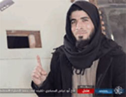 Two suicide bombers who blew themselves up in east Mosul. Right: Abu Fawzan al-Muhajer. Left: Abu Abbas al-Moslawi (Haqq, January 3, 2017)
