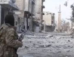 Central Al-Bab, which is still controlled by ISIS (Aamaq News Agency, February 13, 2017).