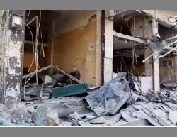 The devastation in Al-Bab, shown over and over again by ISIS's propaganda machine (Aamaq, February 12, 2017)