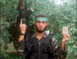 Muhammad al-Jamassi's nephew Muhammad Yassin al-Jamassi, who was an operative in Hamas military wing. He died while carrying out a suicide bombing attack near an Israeli patrol boat on January 17, 2003 (Izz al-Din Qassam Brigades website, March 2, 2017).