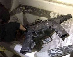 Weapons found in the house where the terrorist operative was killed (Facebook page of QudsN, March 5, 2017).