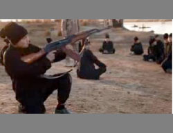 Uyghur children in an ISIS training camp (YouTube, February 27, 2017)