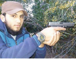 Saleh al-'Arqan, a Palestinian from the Gaza Strip who joined ISIS in Syria (Sawt Fatah, March 27, 2017).