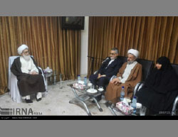 The Majlis committee for national security and foreign policy meets with Ayatollah Nouri Hamedani (IRNA, April 17, 2017).