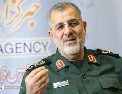 Mohammad Pakpour, commander of the IRGC's ground forces  (Fars, May 2, 2017).
