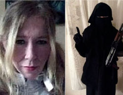 The British Sally Jones, one of ISIS's most prominent widows (Twitter).