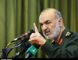 Hossein Salami, IRGC deputy commander (Tasnim News, May 24, 2017)