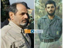 Sha'aban Nasiri, senior IRGC officer, killed in Mosul, Iraq (Twitter, May 26, 2017).