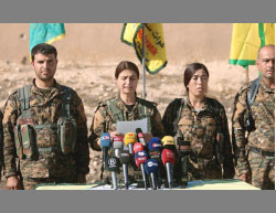 "The SDF announces the opening of the ""Big Campaign"" to liberate Al-Raqqah from ISIS (Enab Baladi, June 6, 2017)."