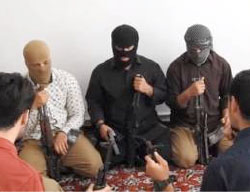 The five squad members of ISIS who carried out the combined attack in the Majles building and at the Khomeini Mausoleum (Haqq, June 9, 2017)