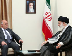 Khamenei and al-Abadi meet in Tehran (website of the supreme leader, June 21, 2017).