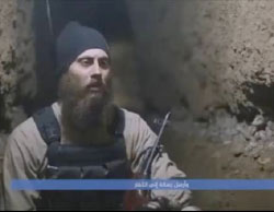 Photos from the video released by ISIS (YouTube, July 3, 2017)