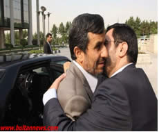 Mortazavi and Ahmadinejad