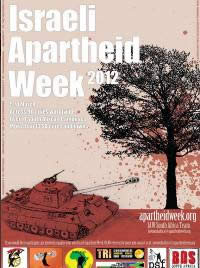 Notice of Israeli Apartheid Week incorporating the BDS campaign,