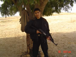 Mahmoud Anaya, an operative in the PRC's military wing.