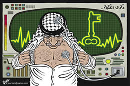 The Palestinians' hearts and minds focus on the