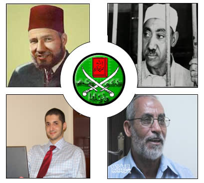 Generations of Muslim Brotherhood leaders