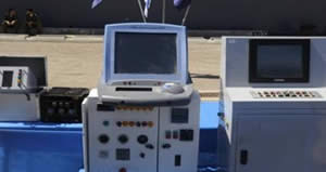 Radar monitoring and control stations on board the ship (IDF Spokesman, March 16, 2011).