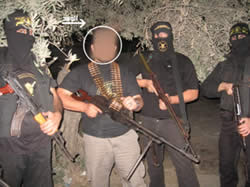 Solidarity meeting of Turkish activists with the military wing of the Palestinian Islamic Jihad