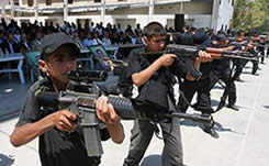 Training with live ammunition (Ynet and Safa News Agency, August 1, 2010).