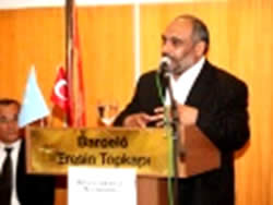Yildirim accusing China of genocide in East Turkistan