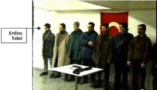 Picture of the terrorists who hijacked the ferry (Photo from YouTube).
