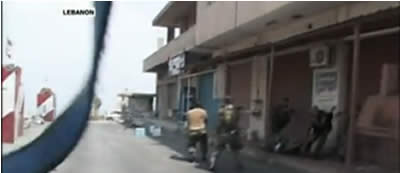Lebanese army forces shoot at IDF soldiers (Al-Jazeera TV, August 3, 2010).
