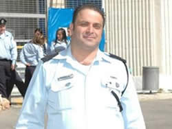 Sergeant Major Yehoshua Sofer (Photo courtesy of the Israel Police)