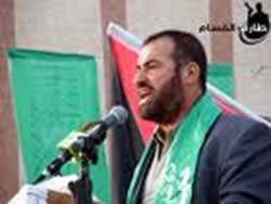 Fathi Hamad, interior minister of the de facto Hamas administration