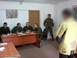 A Hamas court martial sentences to death suspects of cooperation with Israel