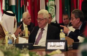 Abu Mazen at a meeting of the Arab monitoring committee