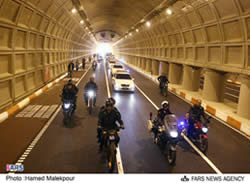 Towhid Tunnel opens in Tehran