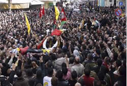 Funeral of the Fatah-Al-Aqsa Martyrs