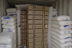 Cases of 107mm rockets