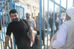 Detainees released by Hamas for Eid al-Fitr