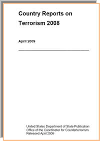 The US Department of State's annual report on terrorism