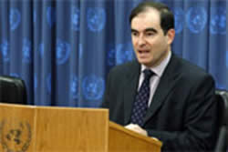 John Ging, the UNRWA chief in the Gaza Strip