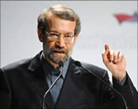 Ali Larijani, chairman of the Iranian parliament