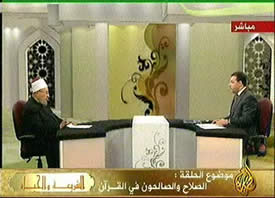 Al-Jazeera TV, March 15, 2009