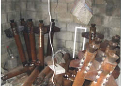 Store of rockets found by the IDF in a mosque