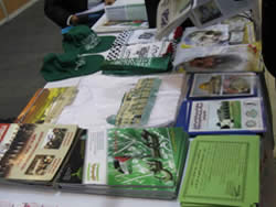 Propaganda material distributed in the Hamas booth at the exhibition